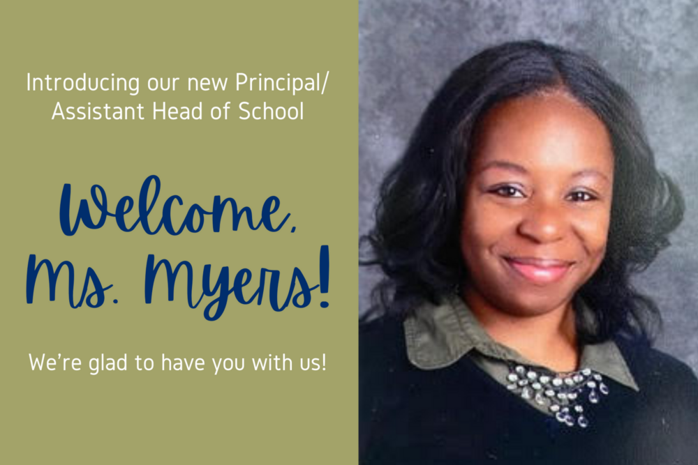 Welcome Ms. Myers!